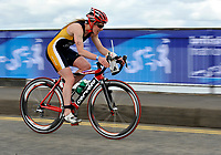 Photo: Paul Greenwood/Richard Lane Photography. Strathclyde Park Elite Triathlon. 17/05/2009. <br />England's Jill pafrker competes in the cycle part of the triathlon