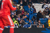 Fuenlabrada Luis Milla during return match of King's Cup between Real Madrid and Fuenlabrada at Santiago Burnabeu Stadium in Madrid, Spain. November 28, 2017. (ALTERPHOTOS/Borja B.Hojas)