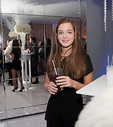CELINE BUCKENS; English National Ballet's party before performance of the ' The Nutcracker. St. Martin's Lane Hotel. London 14 December 2011.