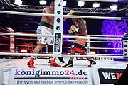 Boxen: Universum Boxpromotion, Boxgala, Hamburg, 21.08.2021<br /> 0012. José Angel Larduet (CUB) -Santander Silgado (PAN) <br /> © Torsten Helmke