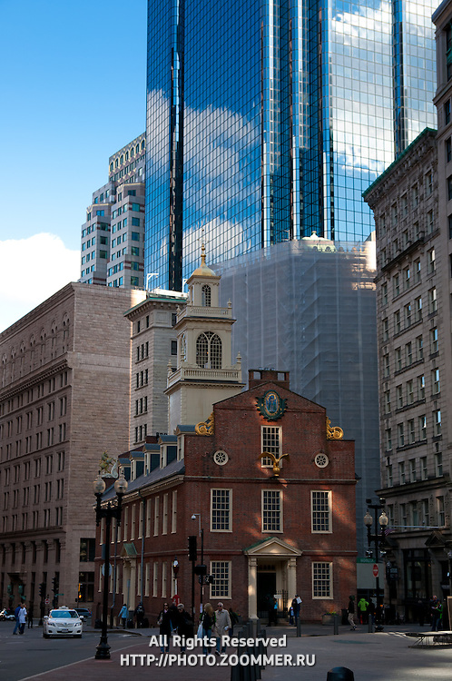 Old State House in Boston, MA