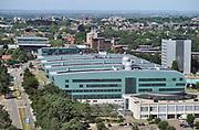 Nederland, Nijmegen, 28-6-2019De gebouwen van de beta faculteit, het Huygensgebouw .Foto: Flip Franssen