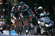 Team Bora - Hansgrohe during the Tour de France 2018, Stage 3, Team Time Trial, Cholet-Cholet (35 km) on July 9th, 2018 - Photo Kei Tsuji/ BettiniPhoto / ProSportsImages / DPPI