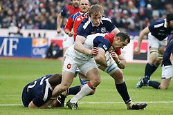 France's Scott Spedding during Rugby RBS 6 Nations Tournament, France vs Scotland in Stade de France, St-Denis, France, on February 12th, 2017. France won 22-16. Photo by Henri Szwarc/ABACAPRESS.COM