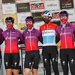 14-03-2021: Wielrennen: GP Oetingen: Oetingen: Team SDWorx