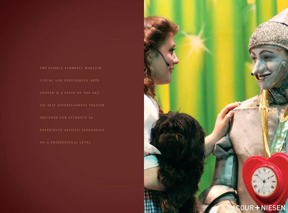 Viewbook for Gaston Day School, Gastonia, N.C. Design by Whipp, Inc. (www.whipp.me)