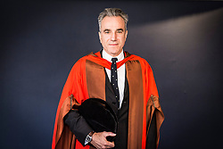 Undated handout photo issued by Goldsmiths, University of London of Sir Daniel Day-Lewis, who was given an honary degree from the university.