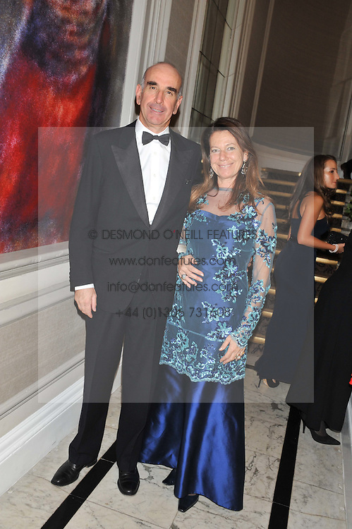 COUNT & COUNTESS ROBERTO LONGANESI CATTANI at Brazil Now a gala ball in aid of the Red Cross held at the Grand Connaught Rooms, 61-65 Queen Street, London on 6th November 2012.