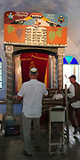 Israel, Upper Galilee, The Druze village of Peki'in The Jewish synagogue built 1873