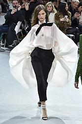 January 22, 2019 - Paris, FRANCE - Alexandre Vauthier.. Model On Catwalk, Paris Haute Couture Fashion Week 2019 HC Ready To Wear For Spring Summer, Defile, Fashion Show Runway Collection, Pret A Porter, Modelwear, Modeschau Laufsteg Sommer, France, .PARHS19 (Credit Image: © FashionPPS via ZUMA Wire)
