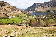 Landscape view Glenridding, Lake District, Cumbria, England, UK