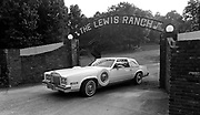 Jerry Lee Lewis leaves his Nesbit, Miss. ranch in this 1989 photograph.