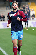 Scunthorpe United defender Charlie Goode (20) prior to the EFL Sky Bet League 1 match between Scunthorpe United and Plymouth Argyle at Glanford Park, Scunthorpe, England on 27 October 2018. Pic Mick Atkins