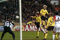 Fotball<br /> Champions League 2004/05<br /> Monaco v Liverpool<br /> 23. november 2004<br /> Foto: Digitalsport<br /> NORWAY ONLY<br /> SAMI HYYPIA (LIV)