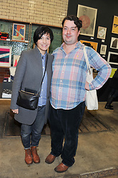 SHARLEEN SPITERI and JOE SCOTLAND at the House of Voltaire pop up shop at 17A Adam's Row, London followed by a party at Sketch, Conduit Street, London on 20th November 2012.