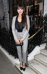 Image licensed to i-Images Picture Agency. 16/06/2014. Zara Martin arriving for the launch of a Gregory Peck exhibition at the Huntsman tailors in Savile Row, London, to celebrate five decades of dressing the Hollywood actor. Picture by Stephen Lock / i-Images