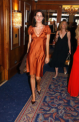 LADY LAURA CATHCART at the Boodles Boxing Ball in aid of the sports charity Sparks  organised by Jez lawson, James Amos and Charlie Gilkes held at The Royal Lancaster Hotel, Lancaster Terrae London W2 on 3rd June 2006.<br />