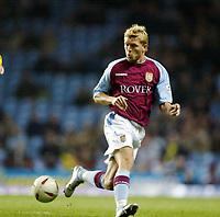 Fotball, 3. desember 2003, Carling Cup, Aston Villa- Crystal Palace 2-0, Marcus Allback, Aston Villa