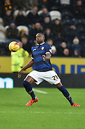 Shola Ameobi of Bolton Wanderers during the Sky Bet Championship match between Hull City and Bolton Wanderers at the KC Stadium, Kingston upon Hull, England on 12 December 2015. Photo by Ian Lyall.