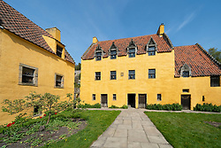 Culross Palace in Culross, Fife, Scotland, UK