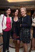 LUCY GILL; JILL SHAW RUDDOCK; LOUISE BHATTACHARJEE, The Foreign Sisters lunch sponsored by Avakian in aid of Cancer Research UK. The Dorchester. 15 May 2012