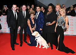 Martin Lewis, Dr Ranj Singh, Alison Hammond and cast and crew of This Morning attending the National Television Awards 2018 held at the O2, London. Photo credit should read: Doug Peters/EMPICS Entertainment