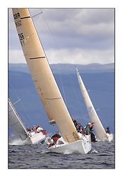 Largs Regatta Week - August 2012.Round the Island Race.GBR 7667R, Now or Never, Neil Sandford, .