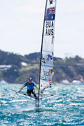 Pete Burling is the new Moth World Champion! McDougall + McConaghy 2015 Moth Worlds, Sailing Anarchy and Sperry Top-Sider Moth Worlds coverage 2015, Sorrento, Australia. January 16th 2015. Photo © Sander van der Borch.