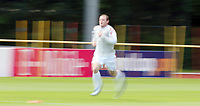 Photo: Chris Ratcliffe.<br />England training session. 06/06/2006.<br />Wayne Rooney warms up with the England team.