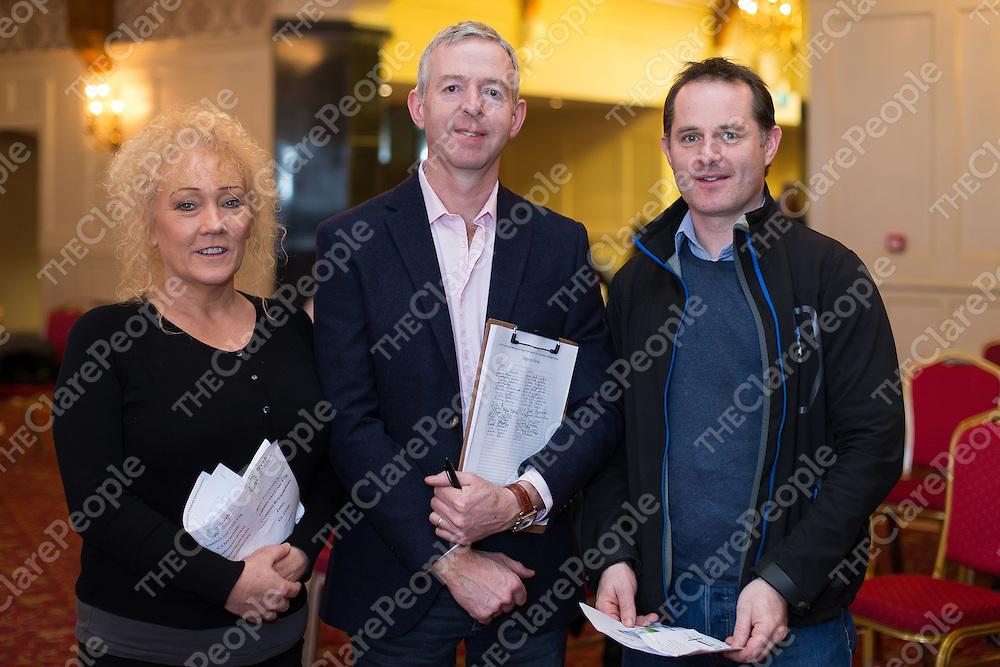 Teachers Carol McMahon, Liam Keane and Ollie Cassidy East Clare Youth Reach