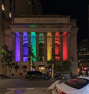 2019 06 26 Gotham Hall Rainbow Facade