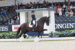 Klinkers Kyra, NED, Equirelle W<br /> World Championship Young Dressage Horses <br /> Ermelo 2016<br /> © Hippo Foto - Leanjo De Koster<br /> 29/07/16