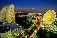 Minato Mirai 21 waterfront development, Yokohama, Japan