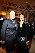 l to r: Audrey Smalls and Harriett Cole at The Fifth Annual Grace in Winter Gala honoring Susan Taylor, Kephra Burns, Noel Hankin and Moet Hennessey USA and benfiting The Evidence Dance Company held at The Plaza Hotel on February 3, 2009 in New York City.