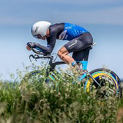 EMMEN (NED) June 16: <br />CYCLING <br />Dutch Nationals Time Trail men U23 Timo de Jong