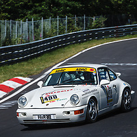 #490, Porsche 964 Cup, Class 56 over 2500ccm/Porsche 964 Turbo Cup, driver: Ron Noll, on 21/06/2019 at the ADAC 24h-Classic 2019, Nürburgring, Germany