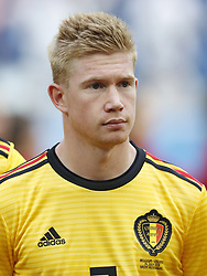 Kevin De Bruyne of Belgium during the 2018 FIFA World Cup Play-off for third place match between Belgium and England at the Saint Petersburg Stadium on June 26, 2018 in Saint Petersburg, Russia