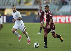October 22, 2017 - Turin, Italy - Tomas Rincon during Serie A match between Torino v Roma, in Turin, on October 22, 2017  (Credit Image: © Loris Roselli/NurPhoto via ZUMA Press)