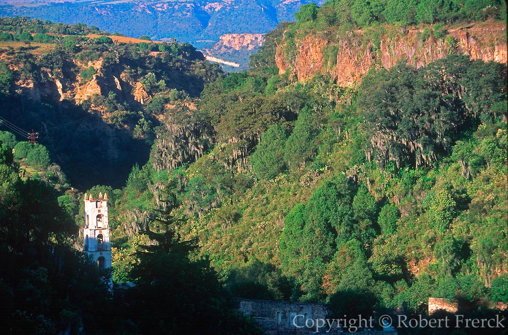 MEXICO, HIDALGO, HISTORIC Santa Maria Regla mining hacienda