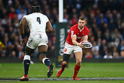 Maro Itoje of England and Dan Biggar of Wales  during the Guinness Six Nations between England and Wales at Twickenham Stadium, Saturday, March 7, 2020, in London, United Kingdom. (Mitchell Gunn-ESPA-Images/Image of Sport)
