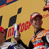 2011 MotoGP World Championship, Round 5, Catalunya, Spain, 5 June 2011, Ben Spies, Casey Stoner, Jorge Lorenzo