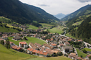 The town of St Leonhard-San Leonardo in the Passeiertal valley, South Tyrol, northern Italy. The South Tyrolean budget is 5bn Euros with only 10% leaving the region for government in Rome.