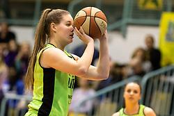 during the basketball match between Akson Ilirija and Cinkarna Celje in Final Round of Pokal Članic 2018/19, on March 10, 2019 in Dvorana Tabor, Maribor, Slovenia. Photo by Blaž Weindorfer / Sportida