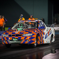 Don Freind (3498) - 'The Jester' Supercharged Outlaw Holden VU Maloo.