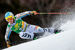 04.03.2017, Podkoren, Kranjska Gora, SLO, FIS Weltcup Ski Alpin, Kranjska Gora, Riesenslalom, Herren, 1. Lauf, im Bild Felix Neureuther (GER) // Felix Neureuther of Germany in action during his 1st run of men's Giant Slalom of FIS ski alpine world cup at the Podkoren in Kranjska Gora, Slovenia on 2017/03/04. EXPA Pictures © 2017, PhotoCredit: EXPA/ Johann Groder