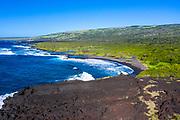 Ke'eku Heiau, Kawa Bay, Kau, The Big Island of Hawaii