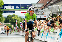 Jani Brajkovic of Team Slovenia during the 5th Stage of 27th Tour of Slovenia 2021 cycling race between Ljubljana and Novo mesto (175,3 km), on June 13, 2021 in Slovenia. Photo by Vid Ponikvar / Sportida