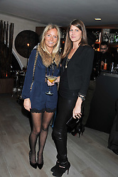Left to right, MARTHA WARD and PRINCESS FLORENCE VON PREUSSEN at a party to launch Senkai - London's first modern Japanese-inspired restaurant at 65 Regent Street, London on 26th October 2011.