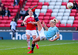 Manchester City's Steph Houghton in action during the FA Women's Continental League Cup final at Bramall Lane, Sheffield.