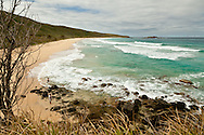 Brava Beach, on the north shore of Culebra, is only accessible by boat or foot trail.